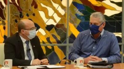 """""""Es un enfrentamiento popular"""", así llamó Díaz-Canel la lucha contra coleros"""