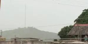Los estragos de la nube de polvo del Sahara en Cuba