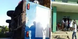 31 heridos por accidente masivo en Sancti Spíritus