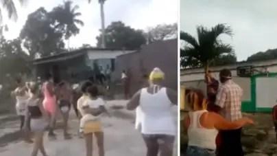 Mujeres protestan por corrupción en albergue de La Habana