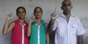 Detienen a familia de opositores en Holguín