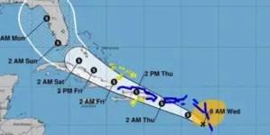 Potencial ciclón tropical se mueve hacia el oeste y amenaza costa norte de Cuba