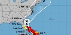 Isaías ya es huracán y afectará la Florida el fin de semana