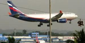 Rusia y Cuba planean reanudar vuelos regulares a partir del 15 de septiembre