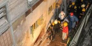 Fallece la mujer que quedó atrapada tras un derrumbe en el Cerro