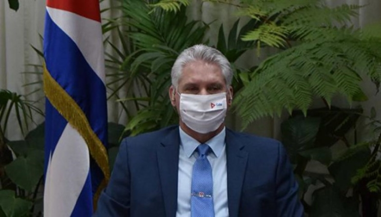 """Díaz-Canel: Cuba """"no renunciará a su soberanía"""" pese a nuevas sanciones"""