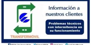 """Etecsa anuncia que Transfermóvil funciona con """"intermitencias"""""""