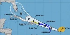 Potencial ciclón tropical podría llegar a la Florida el próximo fin de semana