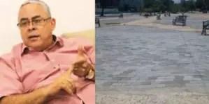 Secretario del PCC de La Habana critica los adoquines del Parque de G