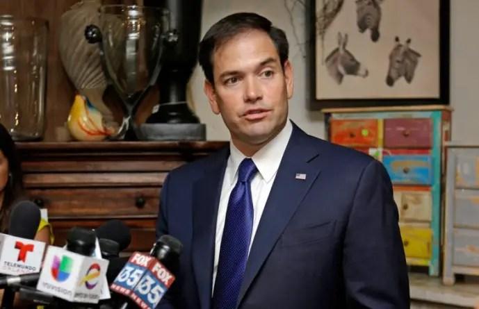 Marco Rubio a los que quieren marchar frente a su casa este 26 de julio: NO