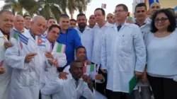 Así usan a Italia en la promoción del Nobel de la Paz para médicos cubanos