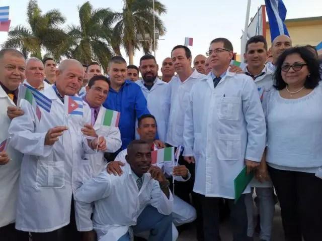cuba médicos cubanos italia henry reeve coronavirus COVID-19