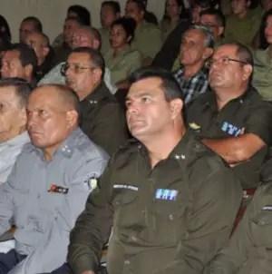 En un cuartel de la policía política…