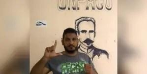 Detenido y multado Yordanis Chávez Roll, activista de la UNPACU