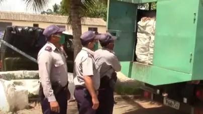 Policía confisca cuatro toneladas de cebolla en Majagua, Ciego de Ávila