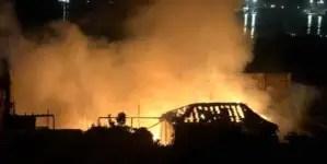 Dos incendios estremecen Santiago de Cuba luego del paso de Laura