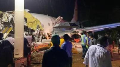 Accidente de avión en India deja 16 muertos y 123 heridos