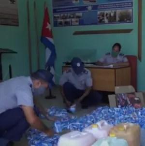 Policía captura a vendedores de jabón y detergente en Baracoa