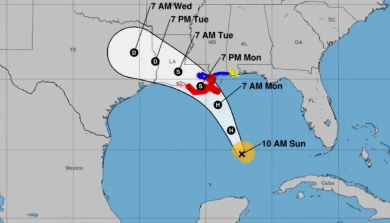 Tormenta tropical Marco se vuelve huracán en el Golfo de México