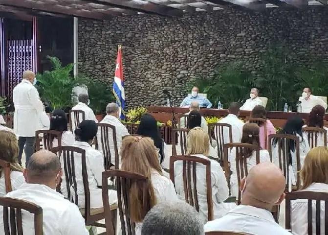 cuba Kuwait saddam hussein fidel raul castro médicos cubanos díaz-canel
