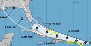 Depresión 13 se convierte en tormenta tropical Laura y acerca trayectoria a Cuba