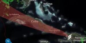 Laura impactará Cuba en la tarde; oriente reporta primeras lluvias