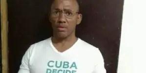 Desde prisión, Maikel Herrera Bone se declara en huelga de hambre