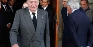 Rey emérito Juan Carlos I anuncia que abandona España