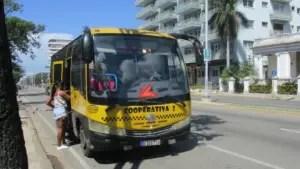Taxi rutero en La Habana