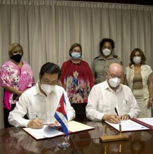 Cuba y China firman proyecto para modernización tecnológica de Aduana
