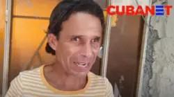 """""""Con amor agradezco lo que han hecho"""": Cubano con discapacidad visual celebra ayuda del exilio"""