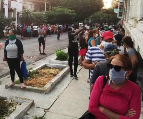 colas Cuba aplicación