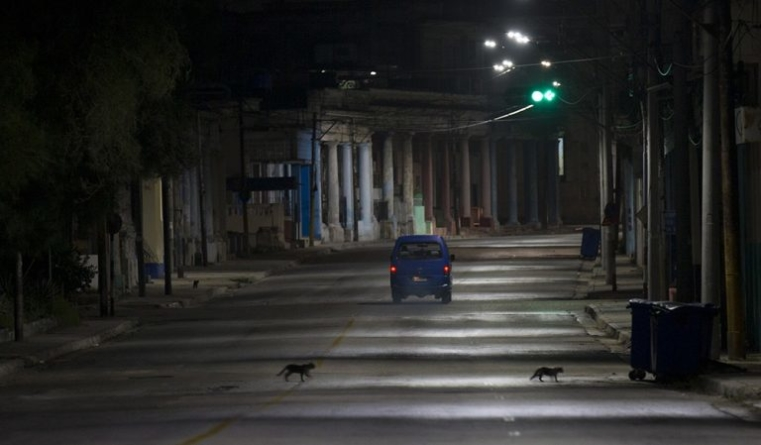 Una ciudad desierta: así luce La Habana en pleno toque de queda