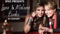 Lena y Malena Burke se presentan en concierto este viernes 18 de septiembre