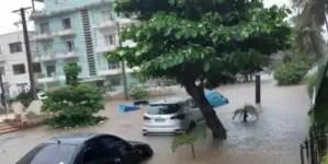 Tormenta local severa deja inundaciones en La Habana