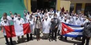 Otra brigada médica cubana llega a Perú para enfrentar la COVID-19