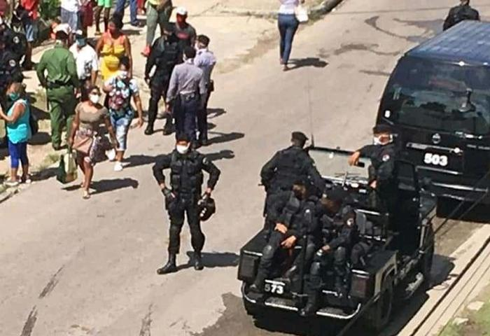 cuba covid-19 coronavirus represión policía decreto 14/20