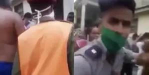 """Abuso policial en Cuba desata la ira: """"Abusadores, es un niño"""""""