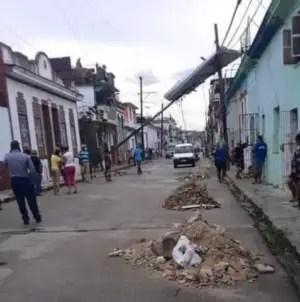 Tornado causa daños materiales en barrio de La Habana