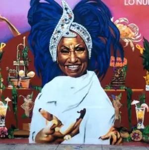 """Miami celebra la """"herencia latina"""" con un mural dedicado a Celia Cruz"""