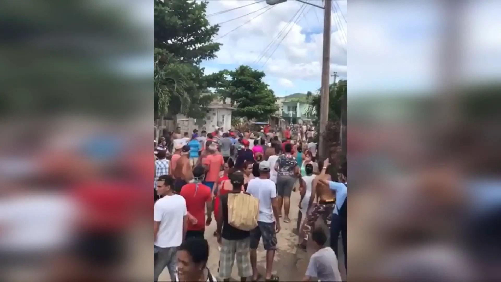cuba policía abuso protesta revuelta