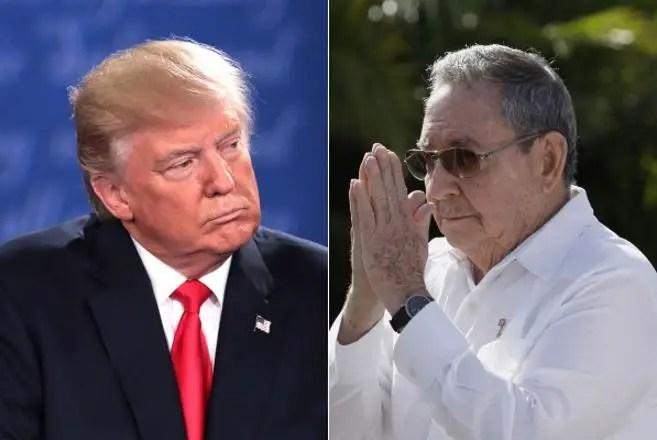 donald trump raúl castro díaz-canel embargo cuba cubanos cubano bloqueo estados unidos eeuu usa economía crisis
