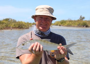 Cuban Fishing, 3-6-15, Simon's Bonefish By David Burton Via Creative Commons.