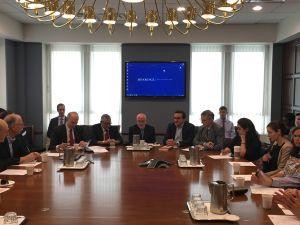 Mesa de trabajo en Brookings Institution.