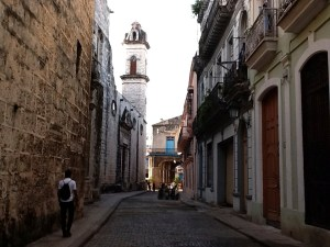 The Narrow Ancient Streets