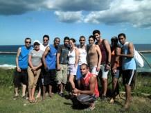 Los aventureros de la escalada.