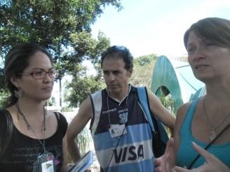 @Marticacuba, Jorge y Marcella en XI Edición del Taller Internacional sobre Paradigmas Emancipatorios