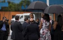 La llegada de Barack Obama a Cuba