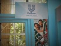Unilever Suchel en el pabellón del Grupo Empresarial de la Industria Ligera