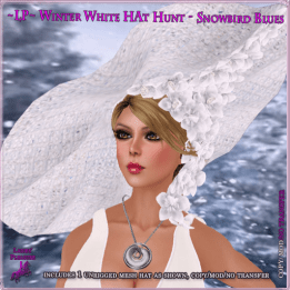 LP-WinterWhiteHatHunt-SnowbirdBlues